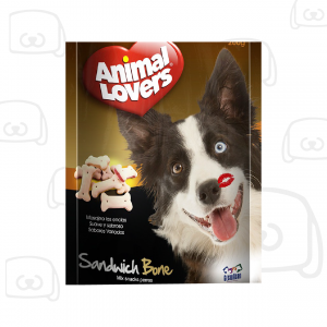 animal lovers sandwich alimento para perros
